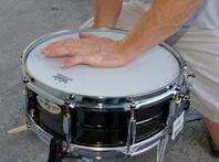 tuning snare head