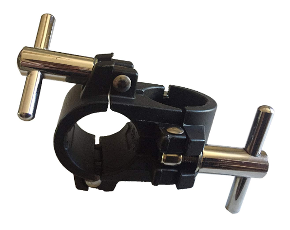 right angle drum rack clamp